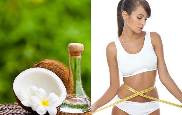 giảm cân, giảm mỡ bụng bằng dầu dừa