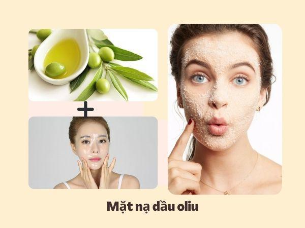 Cách trị da mặt khô sần sùi bằng dầu oliu