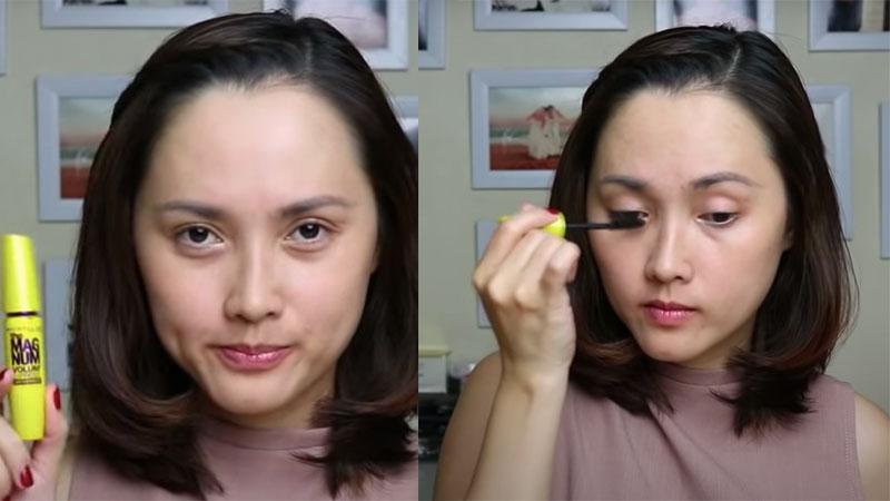 Chuốt mascara sẽ giúp bạn có một đôi mắt long lanh hơn