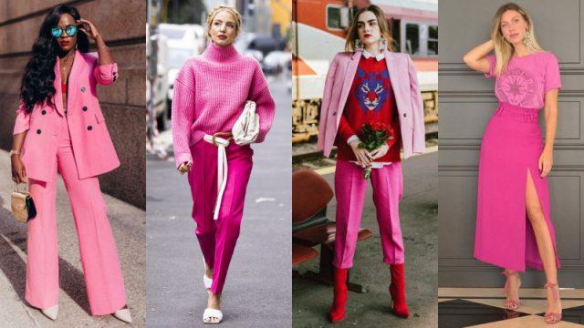 Gam màu hồng hứa hẹn mang đến một phong cách vừa trang nhã vừa gợi cảm cho các quý cô