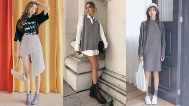 Tone màu xám chưa có dấu hiệu hạ nhiệt trong lĩnh vực thời trang