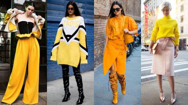 Màu vàng: Trẻ trung và hết mực gợi cảm